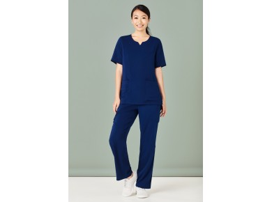 Bizcare Womens Multi-Pocket Straight Scrub Pant CSP944LL