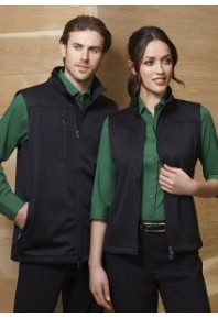 Biz Soft Shell Vest Mens J3881