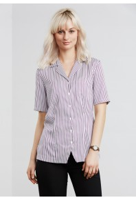 Biz Oasis Womens Stripe Top S226LS
