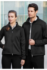 Biz Mens Soft Shell Jacket J3880