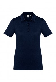 Biz Aero Womens Polo Navy P815LS