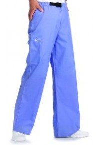 33p buckle Scrub Pants - Navy