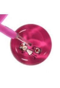UltraScope Adult Hot Pink Stick Nurse / HP Cardiology Tubing